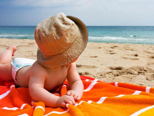 Eucalyptus Oil Uses, Kids Sunburns, Baby on Beach